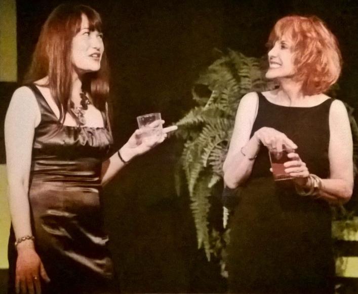 Kat Shepherd as Ginger with Amanda Dreylick