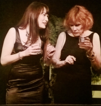 Kat Shepherd as Ginger, with Amanda Dreylick