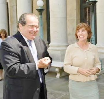 Justice Antonin Scalia, Kat Shepherd, Supreme Court of the United States