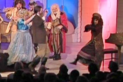 KBS as Postmistress - Russian dancing