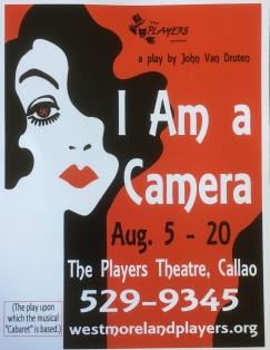 I Am a Camera poster 2017