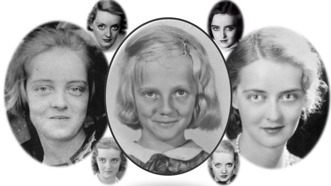 Young Kathy Ballentine as Bette Davis